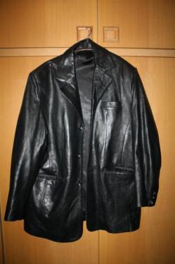 schöne Herren Lederjacke Jacke XL von C & A in Nordhorn