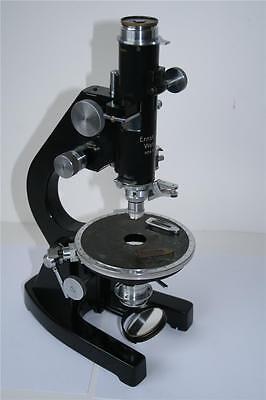 Vtg E. Leitz Wetzlar CM Polarizing Microscope Petrographic Pol ****