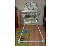 Mothercare highchair/feeding chair