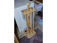 Croquet set for garden