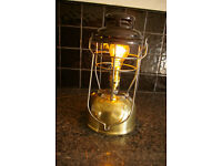 tilley lamp converted to electric