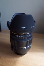 Sigma 18-50 2.8 EX DC HSM Nikon DX fit