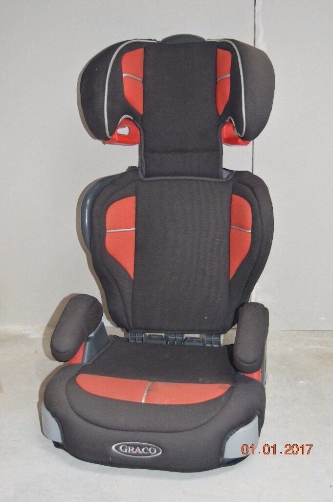 Graco Car Booster Seat With Back Support