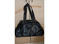 Ladies Large Black Bag FCUK Overnight bag or large handbag
