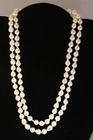 Beautiful Akoya Sea Pearl Necklace Double Strand