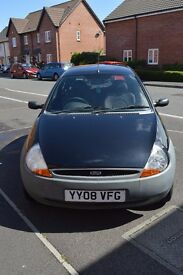 Ford KA 2008 Black superb condition low mileage