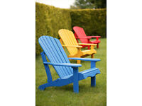 Adirondack Chairs - Canadian made, unbeatable prices!