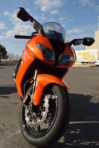 $6499 2008 Kawasaki ZX10R Orange 25000 km