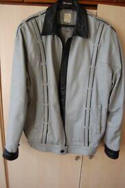 men lookalike grey jacket