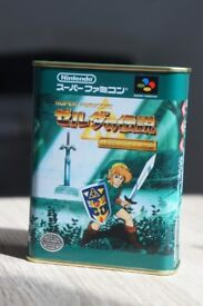 Nintendo Japan Super Famicom Zelda Candy Tin