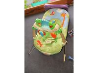 Fisher Price Rainforest Bouncer Good Condition