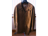 Vintage, ladie's lamb suede, car coat