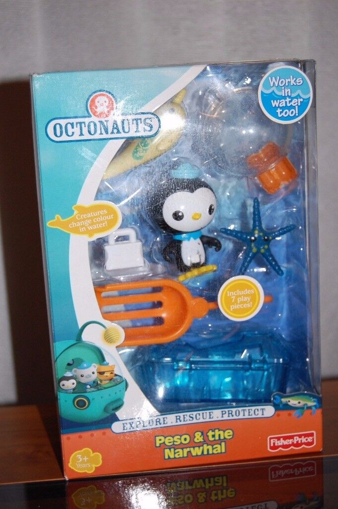 Octonauts Peso & the Narwhal used but like new