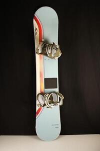 Planche a neige SIMS ACCESS 155 + Fixation FRESH (A028695)