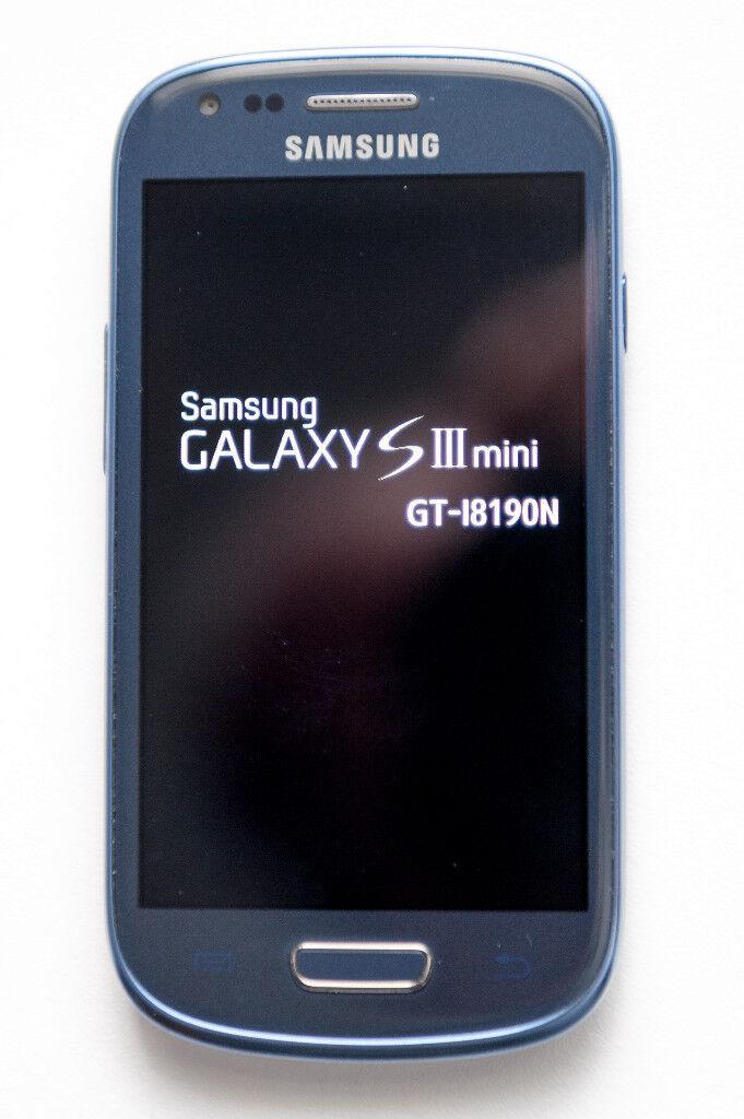 Samsung Galaxy S3 Mini - Unlocked - Blue