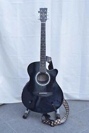 Hudson Bowl Back Electro-Acoustic Guitar - Steel String