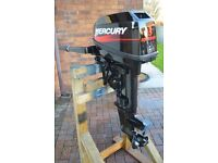 Mercury 15 hp 2-stroke outboard 2001 (Just had full service)