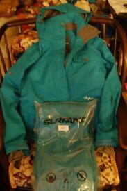 jacket and salopettes