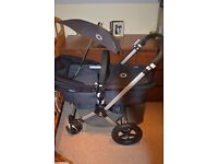 EXCELLENT Bugaboo cameleon 2 TRAVEL SYSTEM grey and black in IMMACULATEcondition