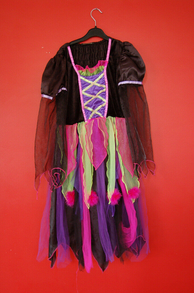 Girls Halloween Dress Age 11-12 (worn once) excellent condition