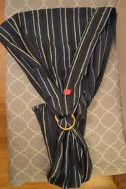 Mamaway Baby Ring Sling Blue Stripe Very good condition