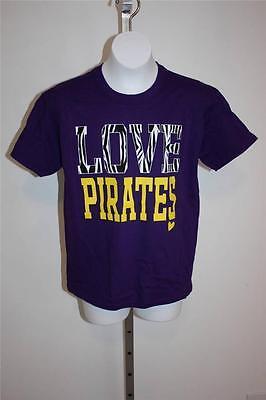 Piraten T-shirts Für Mädchen (Neu East Carolina Universität Piraten Jugendliche für Mädchen XL Violett T-Shirt)