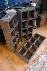 Reclaimed Timber Shelves / Planter / Drawer (Shabby Chic)