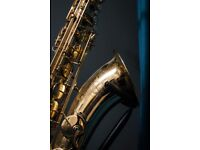 Tenor Saxophone Artemis II + Sturdy case + Bamboo Mouthpiece and more