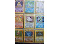 Pokemon Cards - Original First Generation Complete Base Set. Mint condition.