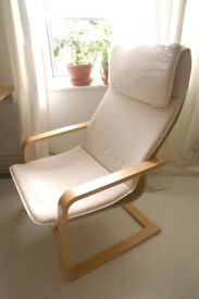 Comfortable and Reclining IKEA Chair
