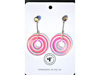 Hand made in the UK earrings by Mags