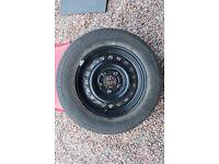 Spare Wheel for Caravan or Trailer 5.5J x 14 inch 5 Stud Rim PCD112