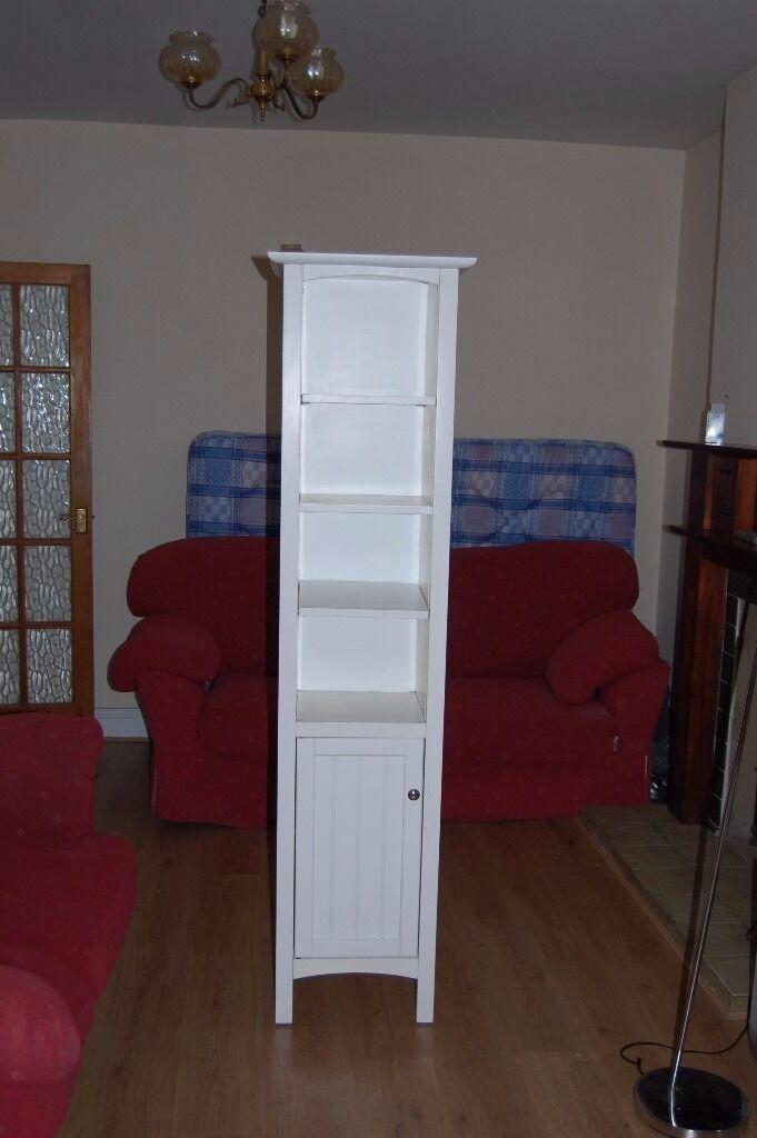 attractive white cabinet