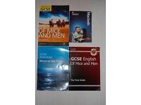 GCSE English Literature Textbooks x4