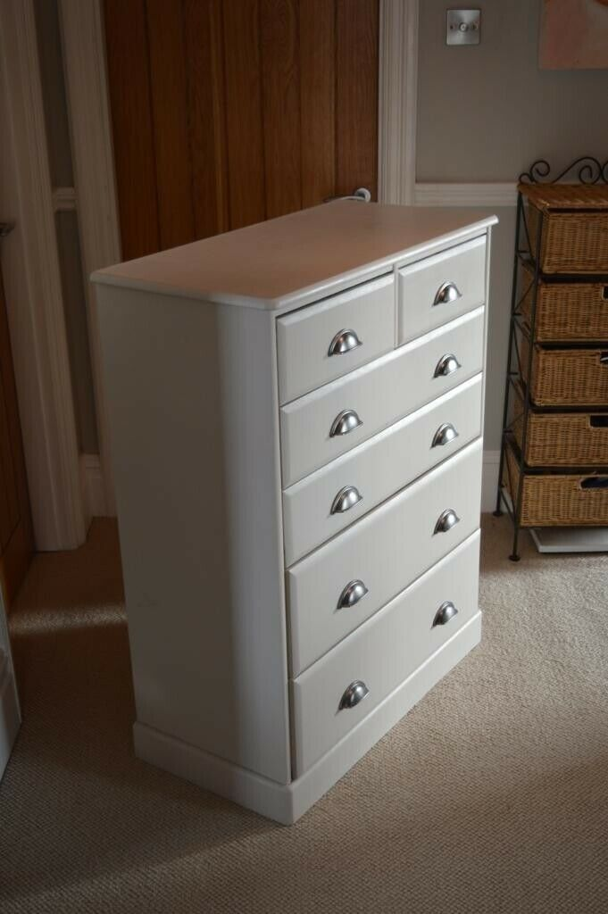 Admirable Bedroom Furniture Suite Double Bed Bedside Pedestals Chest Of Drawers Beautiful Cream Colour In Hayling Island Hampshire Gumtree Download Free Architecture Designs Intelgarnamadebymaigaardcom
