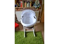Moses Basket £40 ONO
