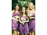 Bridesmaid Prom Dresses Purple