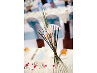 Table decoration: Calla Lily Flower Cage