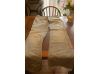 Paul Smith light blue flared jeans size 42