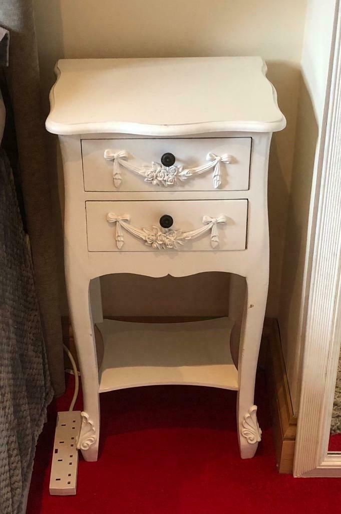 the best attitude c4815 f6fe9 Girls white vanity dresser and two bedside lockers. From Dunelm Mill | in  Saintfield, County Down | Gumtree