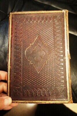 1868 Prague Machzor Prayer  Chanukah Purim 9 BeAv  Slichot Hebrew German - Hanukah Prayer