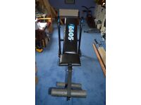 York 6605 Weight Bench good condition.