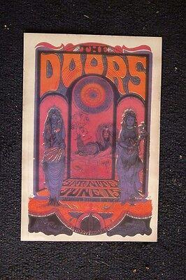 The Doors 1968 Poster Sacramento