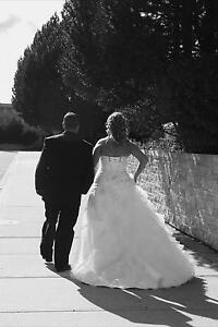 Size 16 White Pearl wedding Dress.....offers
