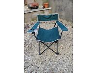 Camping chair - as new