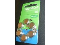 SoundCell Hearing aid Batteries 675