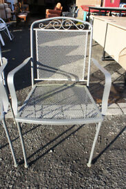 Metal chair (2x available)