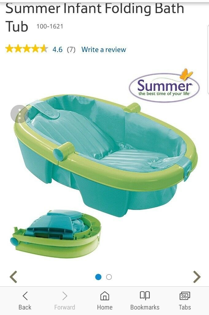 Foldable baby bath tub in excellent condition | in Harrow, London ...