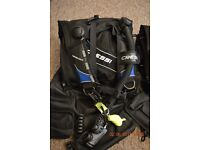 Scuba Diving Cressi Travelight BCD in mint conditions (two available)!