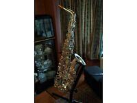 Hanson SA8 alto saxophone
